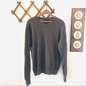 Cashmere Blend V Neck Sweater